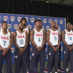 HOOPS HOOPLA IN HARLEM! 2016 USA MEN'S OLYMPIC BASKETBALL TEAM INTRODUCED