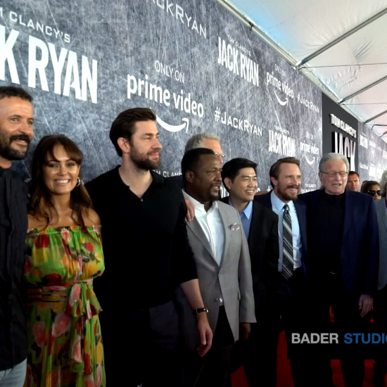 'Jack Ryan' Stars Connect With Service Members Aboard the USS Iowa