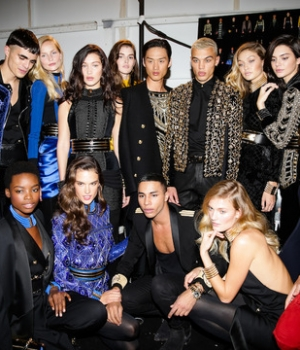 The #HMBalmaination come together for a big fashion celebration in New York