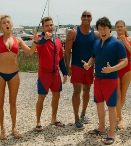 Baywatch stars heat up Miami Beach at World Premiere