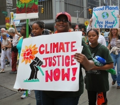 More than 4000,000 Turn Out for People's Climate March in New York City