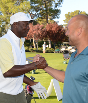 2nd Annual Derek Jeter Celebrity Invitational Golf Tournament at Shadow Creek in Las Vegas