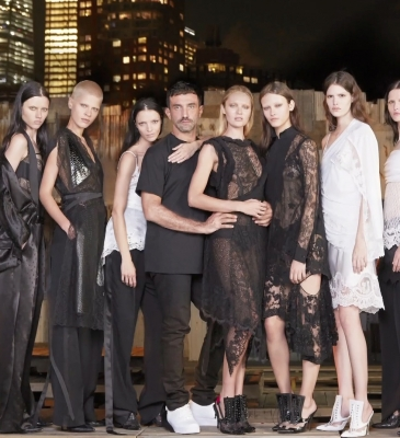 GIVENCHY BY RICCARDO TISCI PRESENTED SPRING-SUMMER 2016 COLLECTION IN NYC FOR THE FIRST TIME