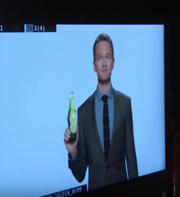 BEHIND THE SCENES OF THE MAKING OF THE HEINEKEN LIGHT 2015 AD CAMPAIGN WITH NEIL PATRICK HARRIS
