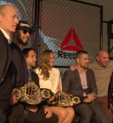 REEBOK AND UFC STEP INTO THE OCTAGON TOGETHER!