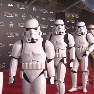 "Lucasfilm Hosts ""Rogue One: A Star Wars Story"" Red Carpet Hollywood Premiere"