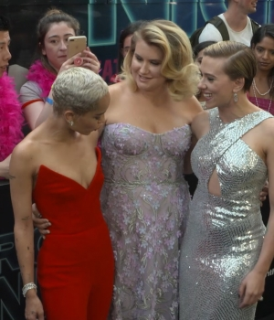 Scarlett Johansson & 'Rough Night' Cast Celebrate Premiere in NYC