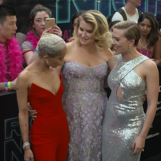 Scarlett Johansson & 'Rough Night' Cast Celebrate Premiere in NYC