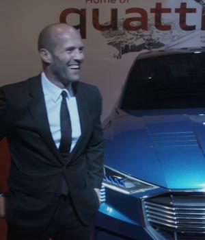 """Audi Night"" in Kitzbühel, Austria with Gwyneth Paltrow and Jason Statham"