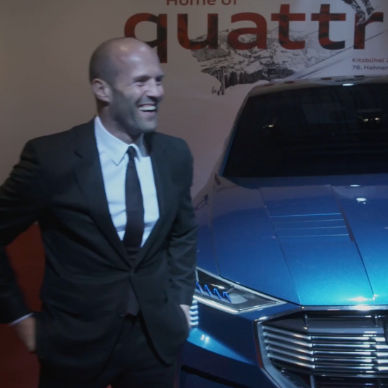 """Audi Night"" in Kitzbühel, Austria with Gwyneth Paltrow and Jason Statham"