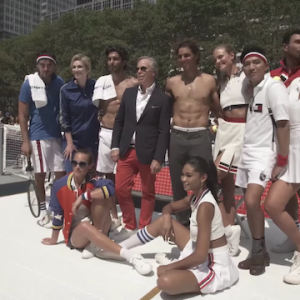 TOMMY HILFIGER LAUNCHES RAFAEL NADAL GLOBAL BRAND AMBASSADORSHIP WITH A SEXY TENNIS TOURNAMENT