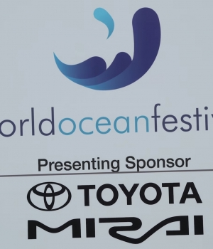 UN PRAISES AUTOMAKER AT THE WORLD OCEAN FESTIVAL