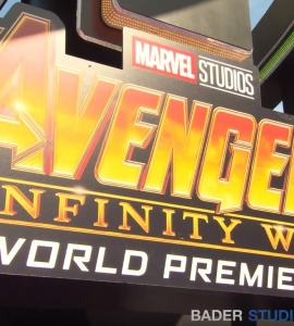 On the Red Carpet of the World Premiere of 'Avengers: Infinity War'
