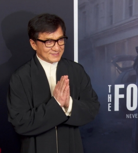 On the Red Carpet with Jackie Chan at the debut of a new Action Thriller, The Foreigner