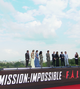 Bader Content Studios Europe on the Paris Red Carpet with the Cast of Mission Impossible 6