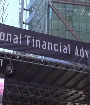 """MONEY TALKS"" IN TIMES SQUARE!  NATIONAL FINANCIAL ADVISOR WEEK IN THE BIG APPLE"