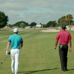 "NIKE GOLF – TELEVISION COMMERCIAL – ""RIPPLE"" BEHIND-THE-SCENES WITH TIGER WOODS & RORY MCILROY!"