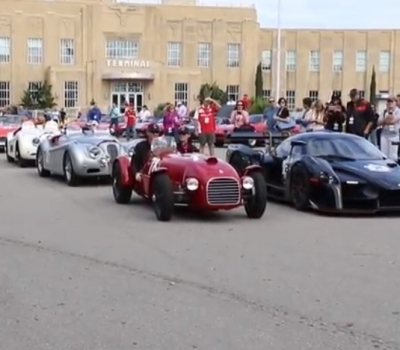 "The Louisiana Chapter of THE FERRARI CLUB of AMERICA Presents the Inaugural ""Cento Miglia"""
