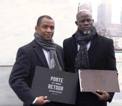 ACTOR & HUMANITARIAN DJIMON HOUNSOU ANNOUNCES THE FIRST GATE OF NO RETURN MARATHON & FESTIVAL
