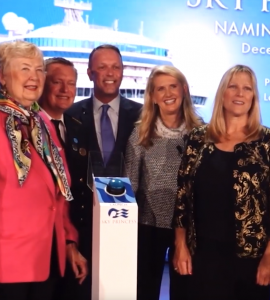 Princess Cruises Celebrates the Women of NASA at Dedication Ceremony Naming New Sky Princess