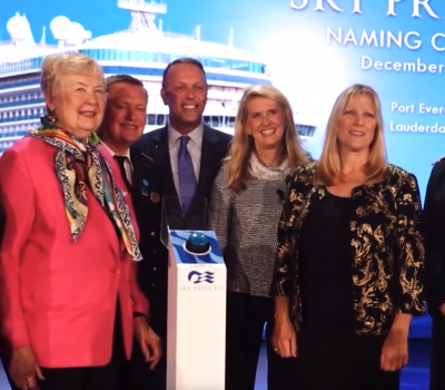 Princess Cruises Celebrates the Women of NASA at Dedication Ceremony Naming New Sky Princess