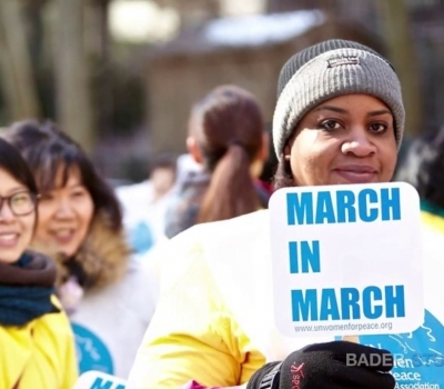 STACEY TISDALE REPORT: UNITED NATIONS WOMEN FOR PEACE PREPARE FOR ANNUAL MARCH IN NEW YORK CITY