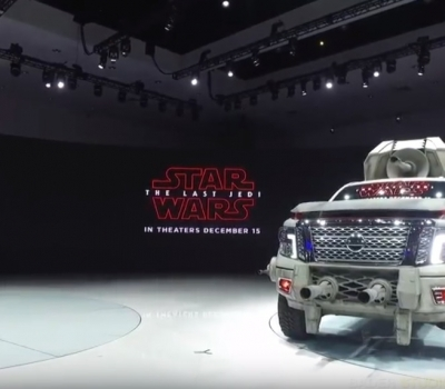 NISSAN JOINS FORCES WITH LUCASFILM Ltd. AT THE 2017 LA AUTO SHOW